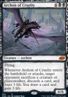 Modern Horizons 2 Variants Foil: Archon of Cruelty (Showcase)