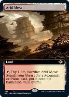 Modern Horizons 2 Variants Foil: Arid Mesa (Extended Art)