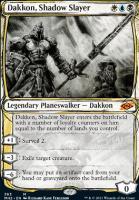 Modern Horizons 2 Variants: Dakkon, Shadow Slayer (Showcase)