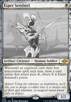 Modern Horizons 2 Variants Foil: Esper Sentinel (Showcase)