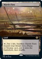 Modern Horizons 2 Variants Foil: Marsh Flats (Extended Art)