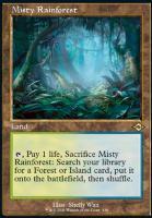 Modern Horizons 2 Variants Foil: Misty Rainforest (Retro Frame)