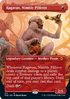 Modern Horizons 2 Variants Foil: Ragavan, Nimble Pilferer (Borderless)