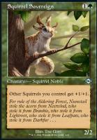 Modern Horizons 2 Variants Foil: Squirrel Sovereign (Retro Frame)
