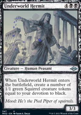 Modern Horizons 2 Variants: Underworld Hermit (Showcase)