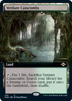 Modern Horizons 2 Variants Foil: Verdant Catacombs (Extended Art)