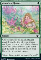 Modern Horizons 2: Abundant Harvest