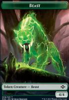 Modern Horizons 2 Foil: Beast Token