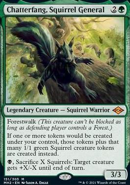 Modern Horizons 2: Chatterfang, Squirrel General