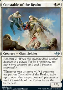 Modern Horizons 2 Foil: Constable of the Realm