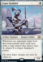 Modern Horizons 2: Esper Sentinel