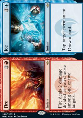Modern Horizons 2: Fire // Ice (Foil-Etched)