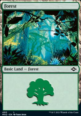 Modern Horizons 2: Forest (490 - Foil-Etched)