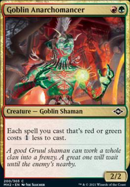 Modern Horizons 2: Goblin Anarchomancer