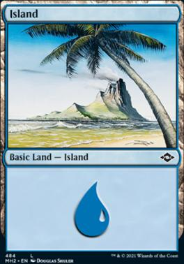 Modern Horizons 2: Island (484 - Foil-Etched)
