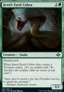 Modern Horizons 2 Foil: Jewel-Eyed Cobra