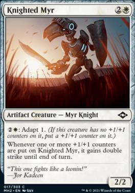 Modern Horizons 2: Knighted Myr