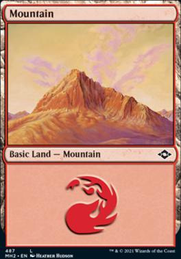Modern Horizons 2: Mountain (487 - Foil-Etched)
