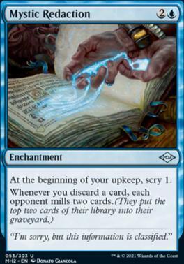 Modern Horizons 2: Mystic Redaction