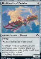 Modern Horizons 2: Ornithopter of Paradise
