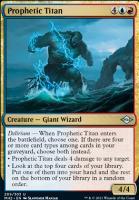 Modern Horizons 2: Prophetic Titan