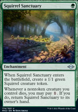 Modern Horizons 2 Foil: Squirrel Sanctuary