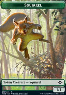 Modern Horizons 2 Foil: Squirrel Token