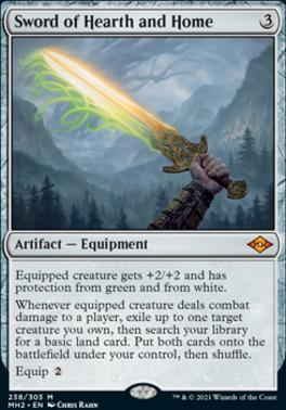 Modern Horizons 2 Foil: Sword of Hearth and Home