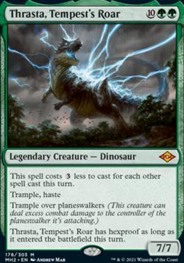 Modern Horizons 2 Foil: Thrasta, Tempest's Roar