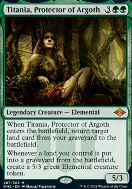 Modern Horizons 2: Titania, Protector of Argoth
