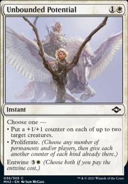 Modern Horizons 2: Unbounded Potential