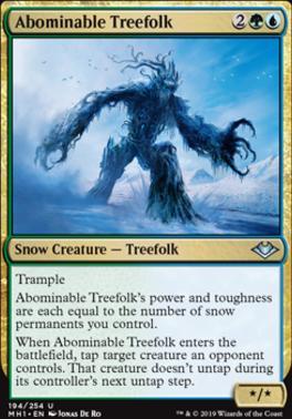 Modern Horizons: Abominable Treefolk