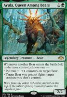 Modern Horizons Foil: Ayula, Queen Among Bears