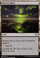 Modern Horizons Foil: Barren Moor