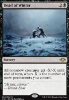 Modern Horizons Foil: Dead of Winter
