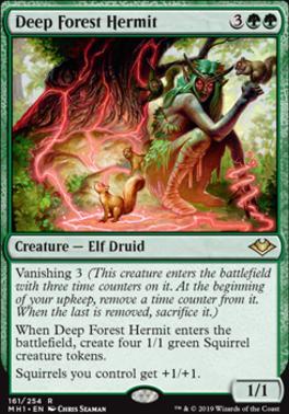 Modern Horizons Foil: Deep Forest Hermit