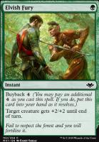 Modern Horizons Foil: Elvish Fury