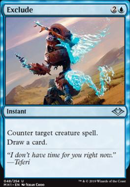 Modern Horizons Foil: Exclude