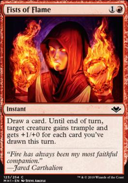 Modern Horizons: Fists of Flame