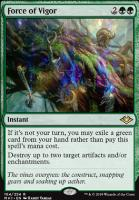 Modern Horizons Foil: Force of Vigor