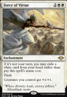 Modern Horizons Foil: Force of Virtue