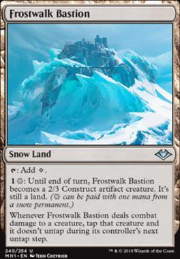 Modern Horizons: Frostwalk Bastion