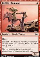 Modern Horizons Foil: Goblin Champion