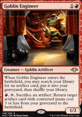 Modern Horizons Foil: Goblin Engineer