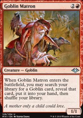 Modern Horizons: Goblin Matron