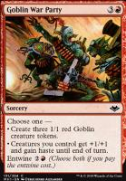 Modern Horizons Foil: Goblin War Party