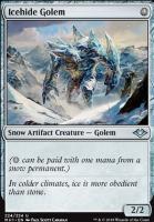 Modern Horizons: Icehide Golem