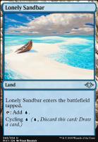 Modern Horizons: Lonely Sandbar