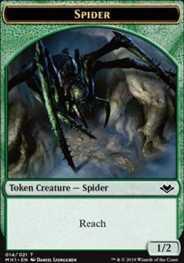 Modern Horizons Foil: Spider Token