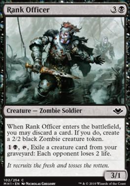 Modern Horizons: Rank Officer
